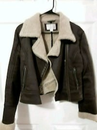 brown and gray zip-up jacket Imperial, 63052