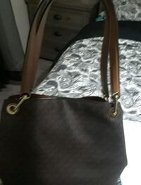 black and brown leather tote bag Lake Wales, 33853