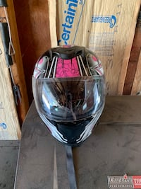 black and red full face helmet Dawson, 56232