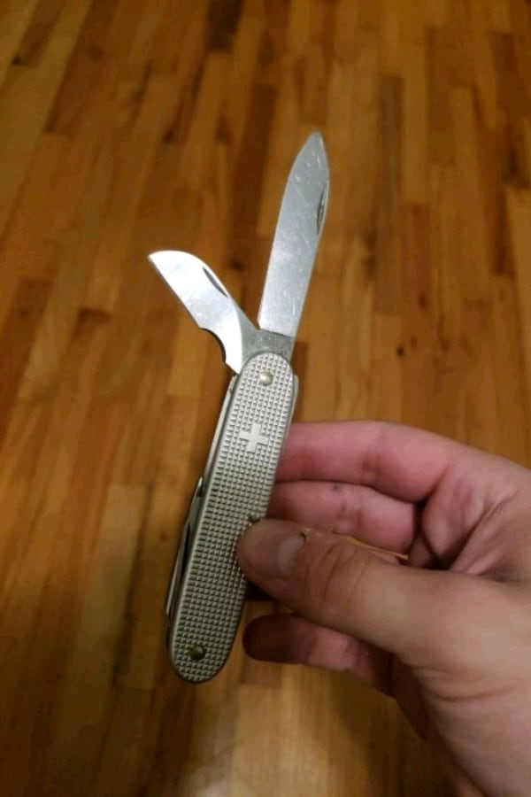 Swiss army knife, little stiff. $20 obo 3