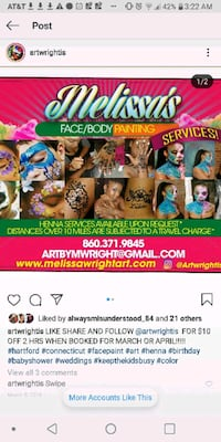 Body painting East Hartford