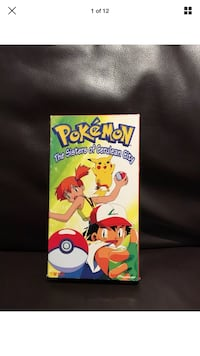 Pokémon The Sisters of Cerulean City Official VHS Tape London, N6G 2Y8