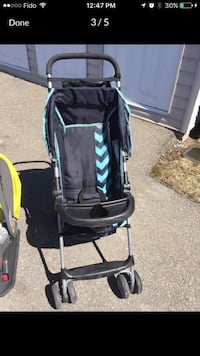 Baby- toddler stroller light weight and doesn't take much room at all Laval, H7W