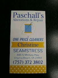 Sewing Services / Alterations & Repair Virginia Beach