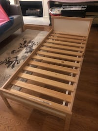 Ikea junior bedframe and mattress Richmond, V6V 1Y2