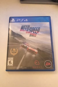 NEED FOR SPEED RIVALS PS4 DISK!
