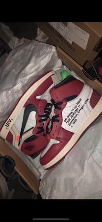 Nike Air Jordan Off White Chicago sz 8.5 College Park