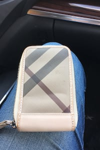 Burberry phone case/wallet!!