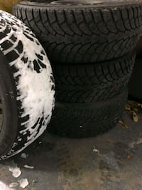 4 Pneus hiver /tires winter Mazda 3