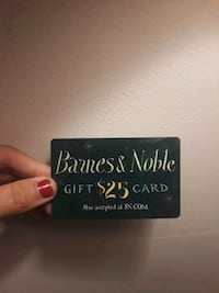 B&N Gift Card Centreville, 20121