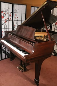 """For Sale: Sonny's Pianos Steinway Grand Piano Model L 5' 10.5"""" Beautiful Mahogany 1951 Excellent Condition $12,950. Port Jefferson Station"""