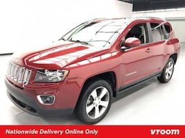 2016 Jeep Compass Deep Cherry Red Crystal Pearlcoat hatchback