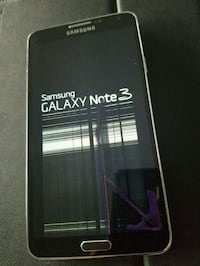Galaxy Note 3 32gb clean Unlock has crack screen  Miami Beach, 33141
