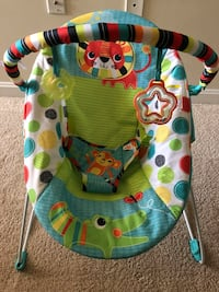 Like new. Baby's green and blue bouncer Fairfax, 22030