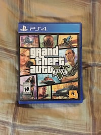 Grand Theft Auto Five PS4 game case Langley, V2Y 1V4