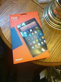 blue and red Amazon Fire TV stick with box Columbia, 29209