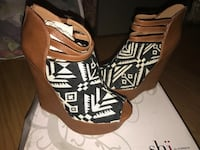 Ladies wedges shoes