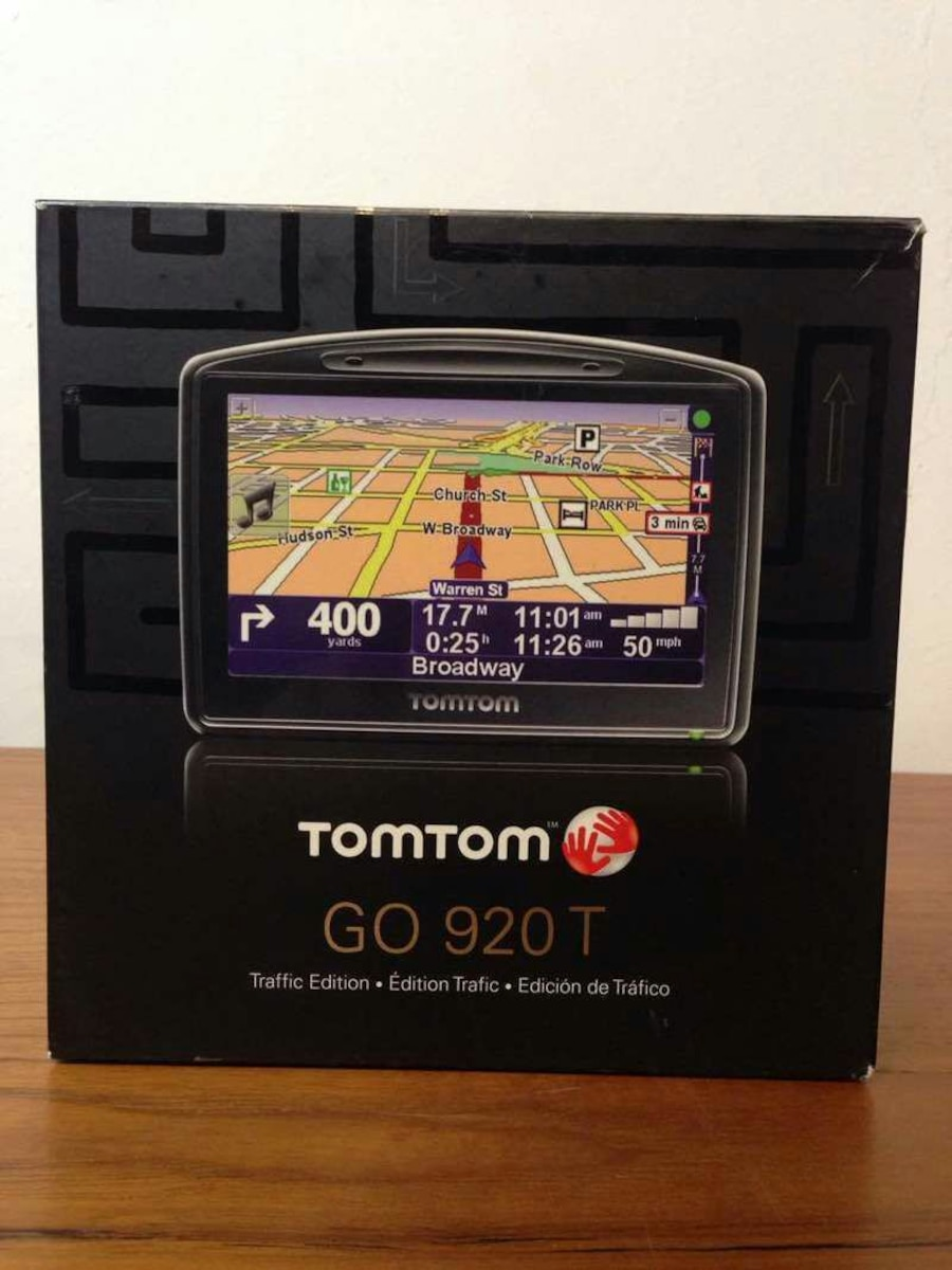 tomtom go 920t gps in south san francisco letgo. Black Bedroom Furniture Sets. Home Design Ideas