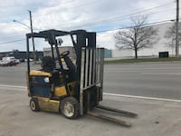 5000 lb Yale -Electric forklift -works really great.   Oakville