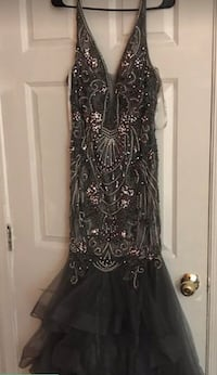 Formal dress , worn only once . Size 12  Elkridge, 21075