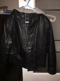 London Fog size 5 kids leather jacket Edmonton, T5J 0S3