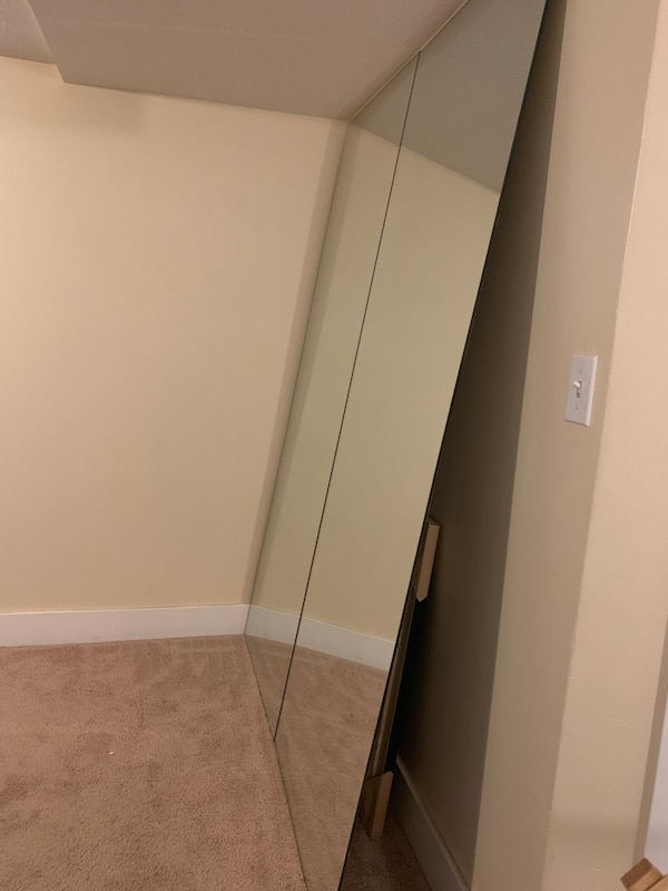 Used 2 Floor To Ceiling Mirrors For Sale In Midvale Letgo
