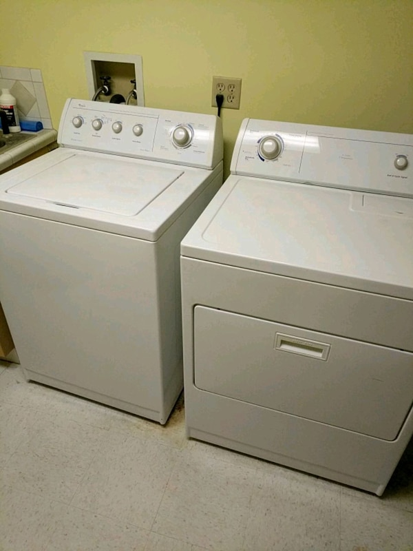 Washer and electric drier set