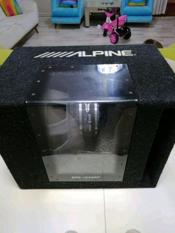 Alpine SBG1244BP SUBWOOFER