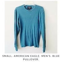 blue scoop-neck long-sleeved shirt San Diego