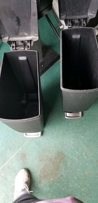 foot pedal garbage cans. $5 for both