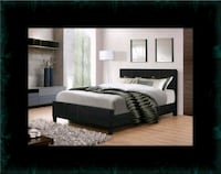 Full platform bed with box spring 46 km