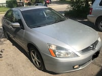2004 Honda Accord  5 speed manual NO RUST 143000KM Mint condition. it comes in metallic silver exterior& black cloth interior and comes with all the options  power window power mirror heated mirror  power seats  heated seats  Alarm  6 cd changer  AC  and  Richmond Hill, L4C 2R8