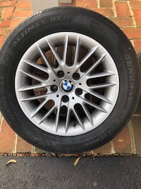BMW 530i Rims (e [TL_HIDDEN] 6 inch OEM rims. Set of 5 (4+spare) Alexandria, 22307