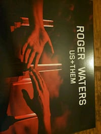 Roger Waters concert VIP box set from last year