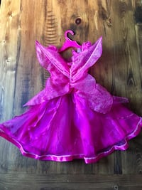 Girls fairy costume with attached wings Cambridge, N3H 3Y2