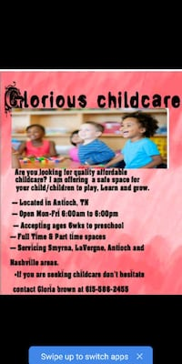 gloriou's childcare