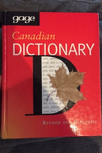 Gage Canadian Dictionary's