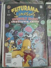 Futurama Simpsons infinity secret cross over cris Abbotsford, V2T 6M6