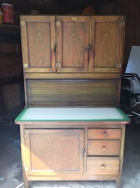 white and green wooden cabinet Scott Depot, 25560