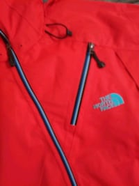 New Large North Face Maching Fiery Red jacket all  Washington