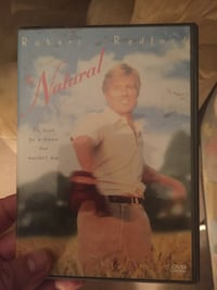 The Natural DVD movie case $3.