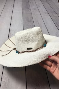 Beautiful beach sun hat