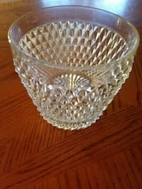 Large Vintage Crystal Ice Bucket  Laughlin, 89029