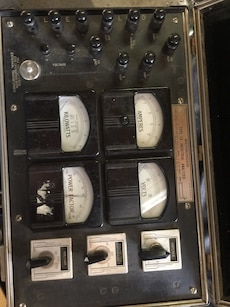 black and white Westinghouse Tape Ta Industrial Analyzer