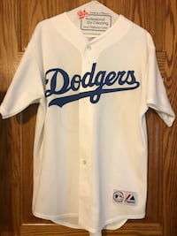 White and blue dodgers jersey Lake Arrowhead, 92352