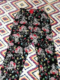 women's black and multicolored floral pants Las Vegas, 89106