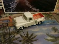 white single cab pickup truck scale model Montréal, H2E 2C4