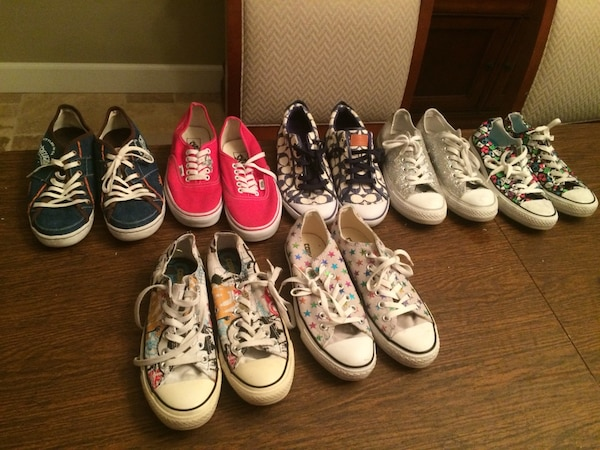 fashion style amazon release info on Converse Vans Coach True Religion. 65.00 takes them all!!!!!
