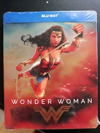 WONDER WOMAN Steelbook blu-ray edizione limitata  Genova, 16147