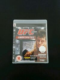 UFC Undisputed PS3 game case